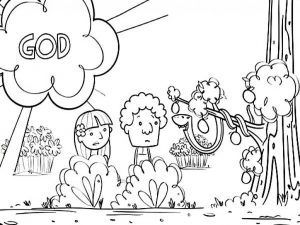 coloring adam and eve story for kids adam and eve coloring lesson kids coloring page kids story coloring for and adam eve