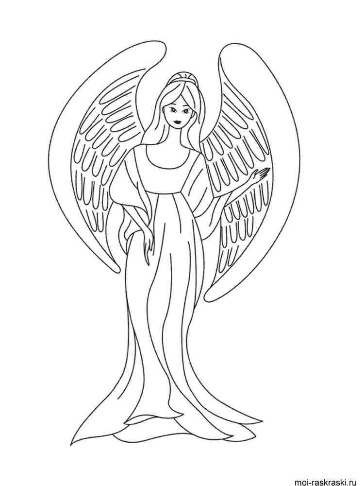 coloring angel printable angel coloring pages coloringmecom coloring angel