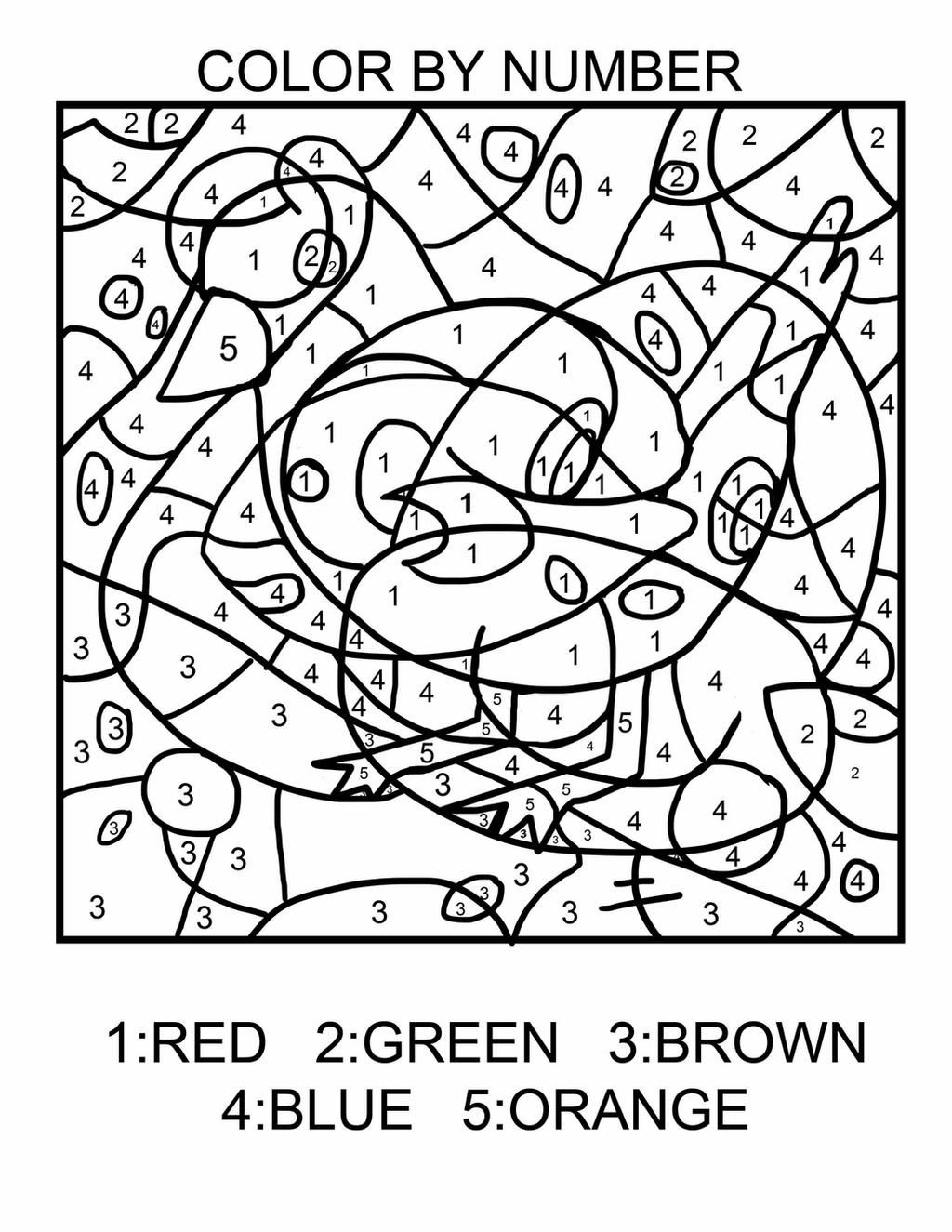 coloring art for grade 3 new easy color by number pt3 by nireleetsac on deviantart art for coloring grade 3
