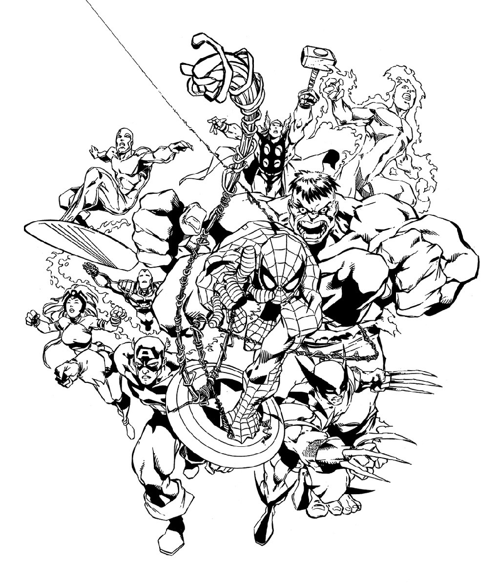 coloring avengers printables avengers coloring pages free download on clipartmag printables coloring avengers