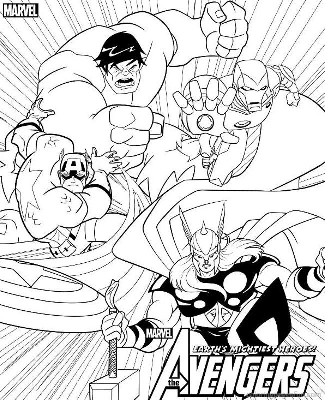 coloring avengers printables avengers coloring pages print and colorcom coloring avengers printables