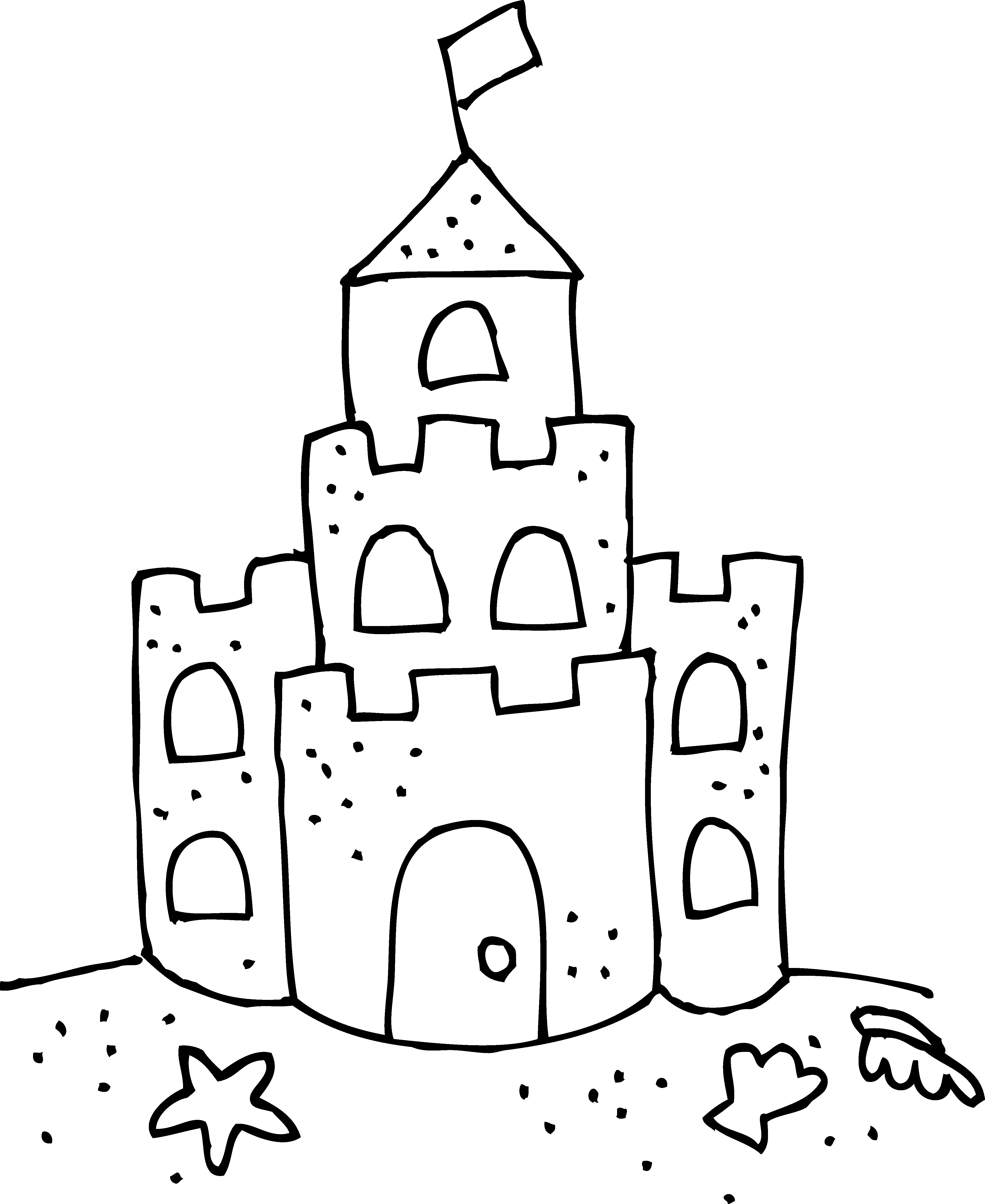 coloring beach clipart black and white beach pail and shovel coloring book page clipart best and beach black white clipart coloring