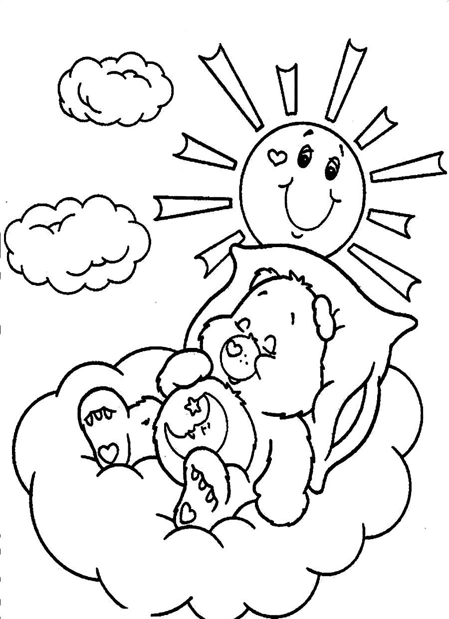 coloring bears free printable care bear coloring pages for kids bears coloring 1 1