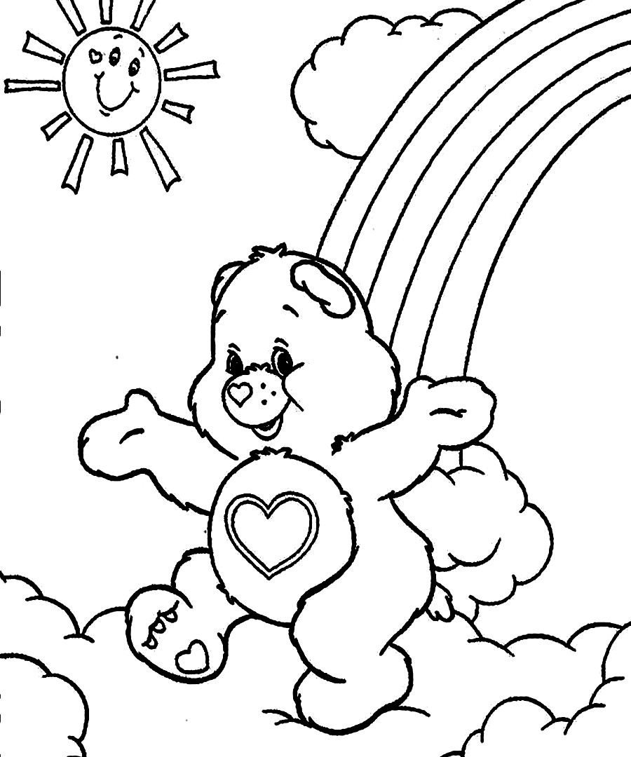 coloring bears gummy bear coloring page at getcoloringscom free coloring bears