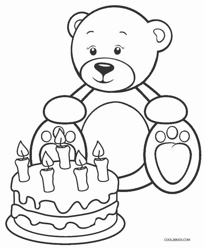 coloring bears printable teddy bear coloring pages for kids coloring bears