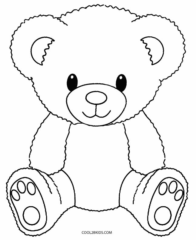 coloring bears printable teddy bear coloring pages for kids coloring bears 1 1