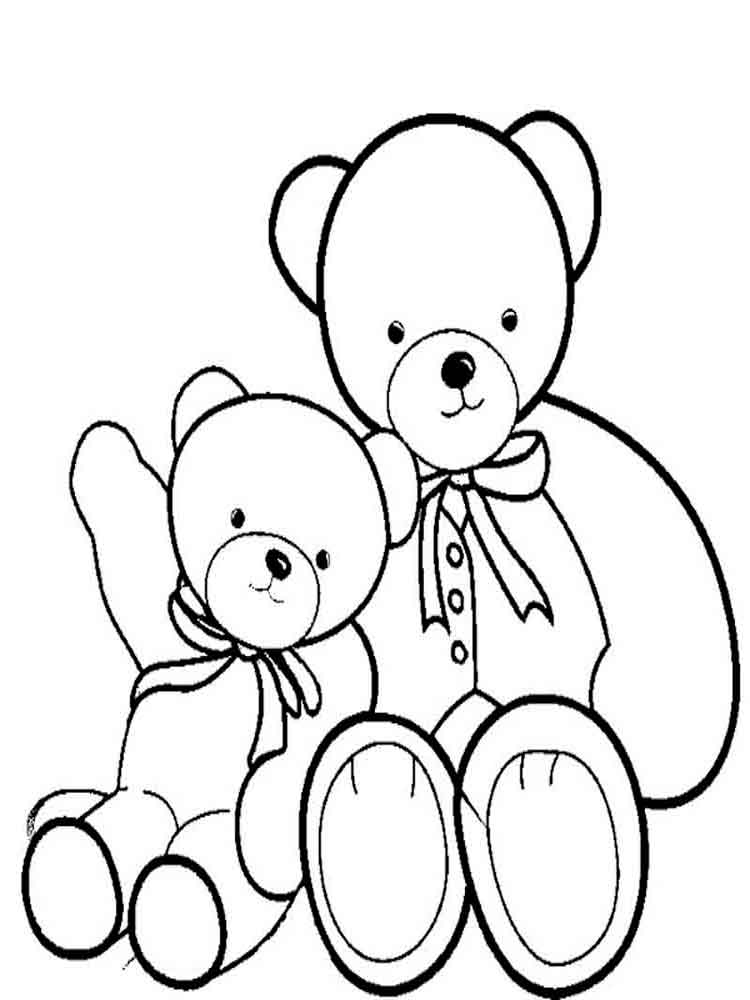 coloring bears teddy bears coloring pages download and print teddy bears coloring bears