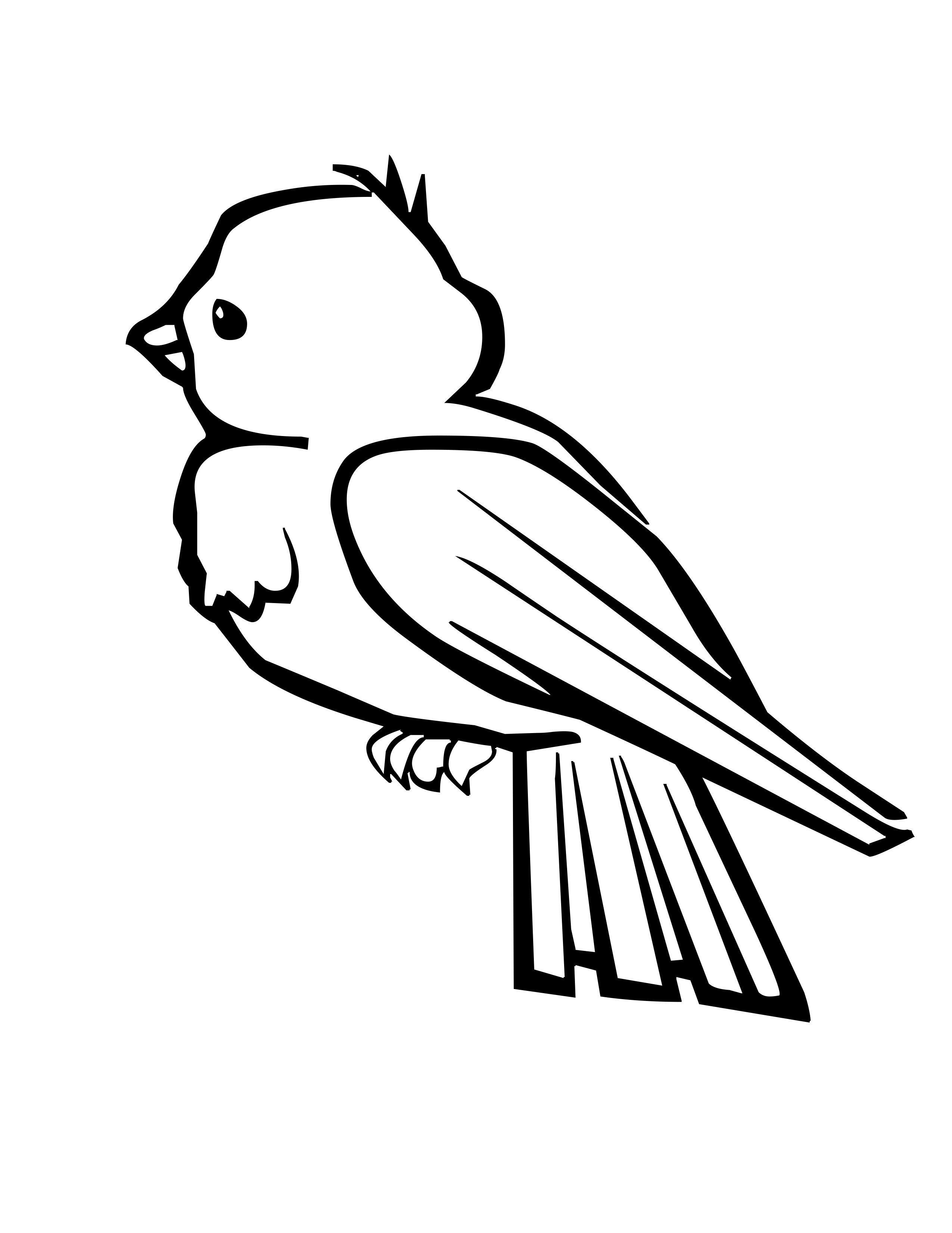coloring bird printable 8 best images of free printable pictures of birds winter bird printable coloring