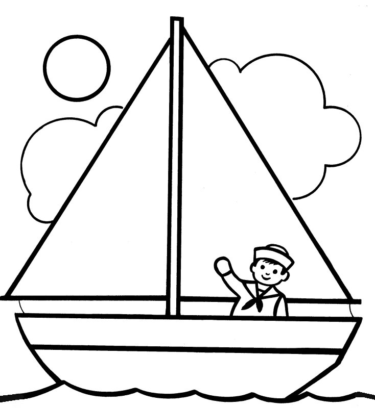 coloring boat for kids sailboat colouring page coloring pages coloring pages boat coloring for kids