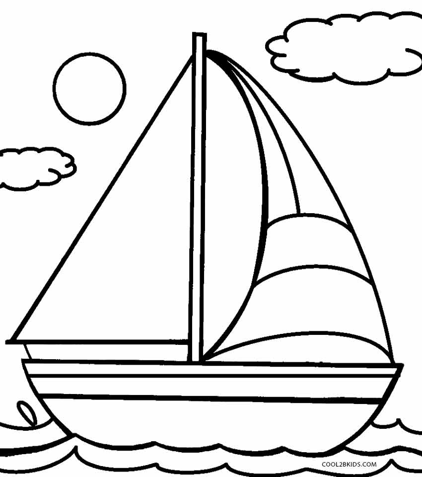 coloring boat printable boat coloring pages for kids cool2bkids boat coloring