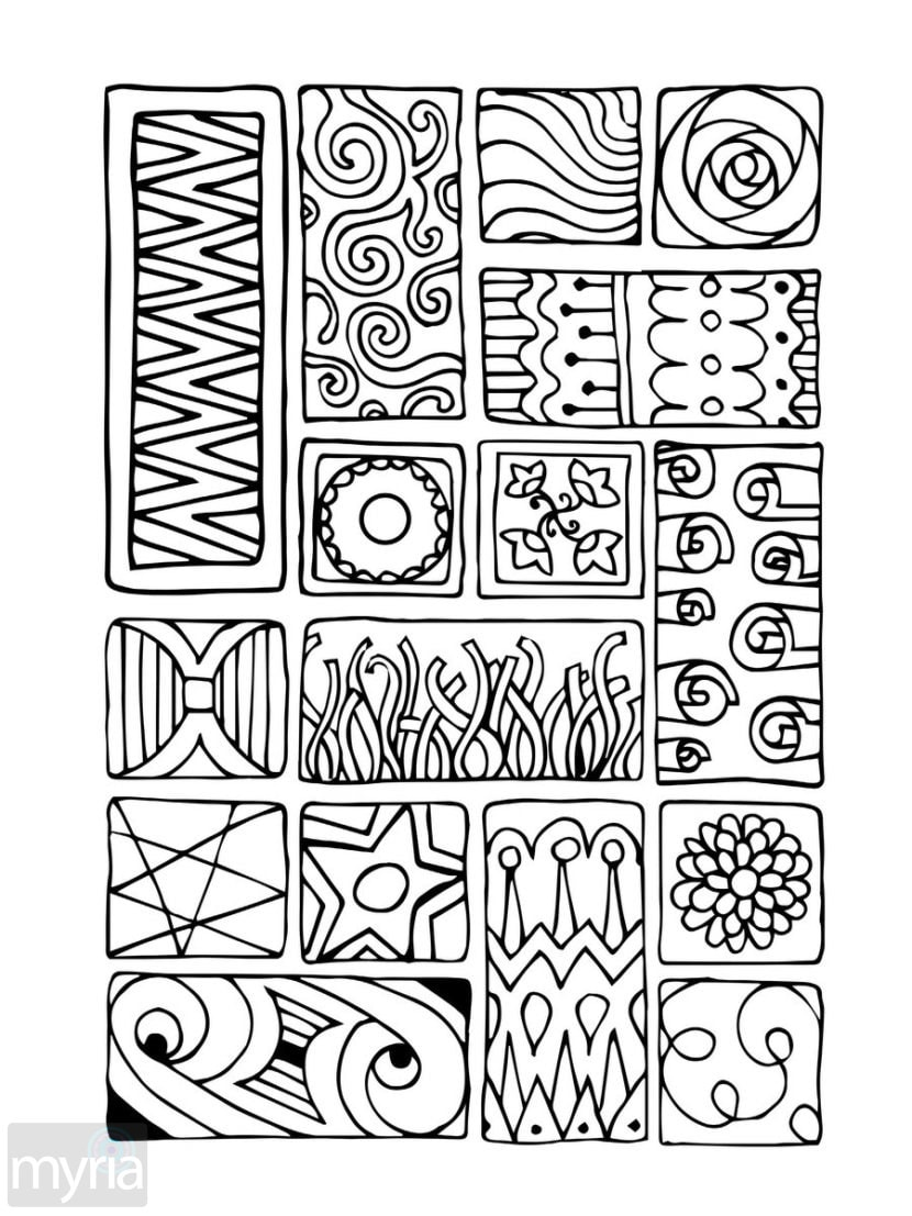 coloring book for adults easy astonishing easy adult coloring pages printable azspring for coloring book easy adults