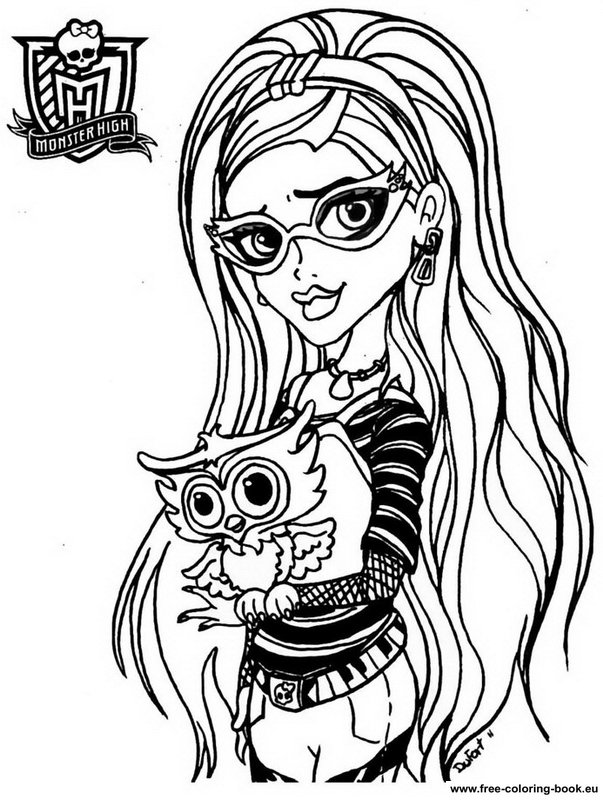 coloring book monster high free monster high coloring pages to print for kids coloring book monster high 1 1
