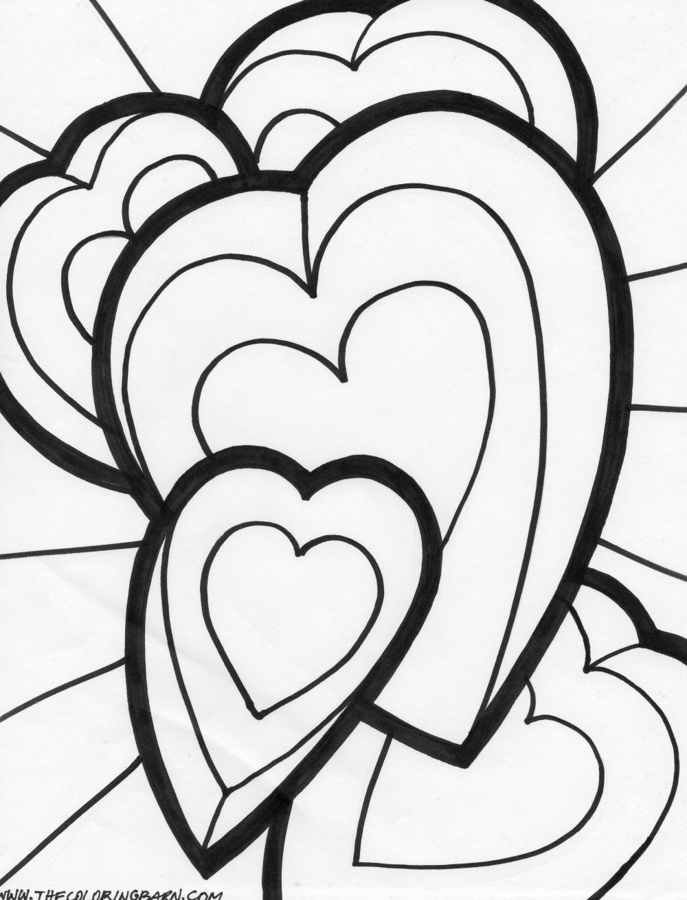 coloring book pictures of hearts 6 best images of big hearts valentine printable coloring book of pictures hearts coloring