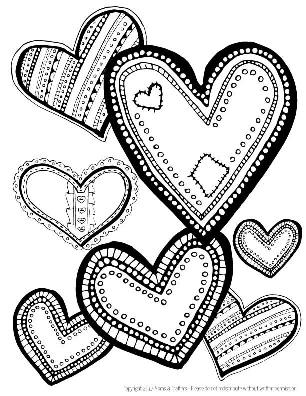 coloring book pictures of hearts i hope you enjoy this free printable make sure you follow of coloring hearts book pictures