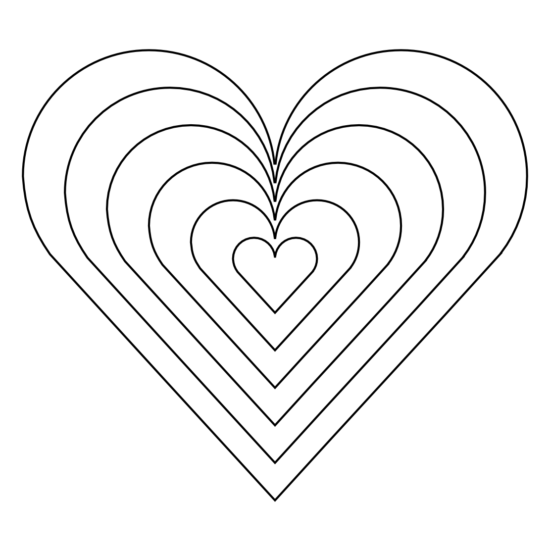 coloring book pictures of hearts rainbow heart coloring pages coloring home coloring of pictures book hearts