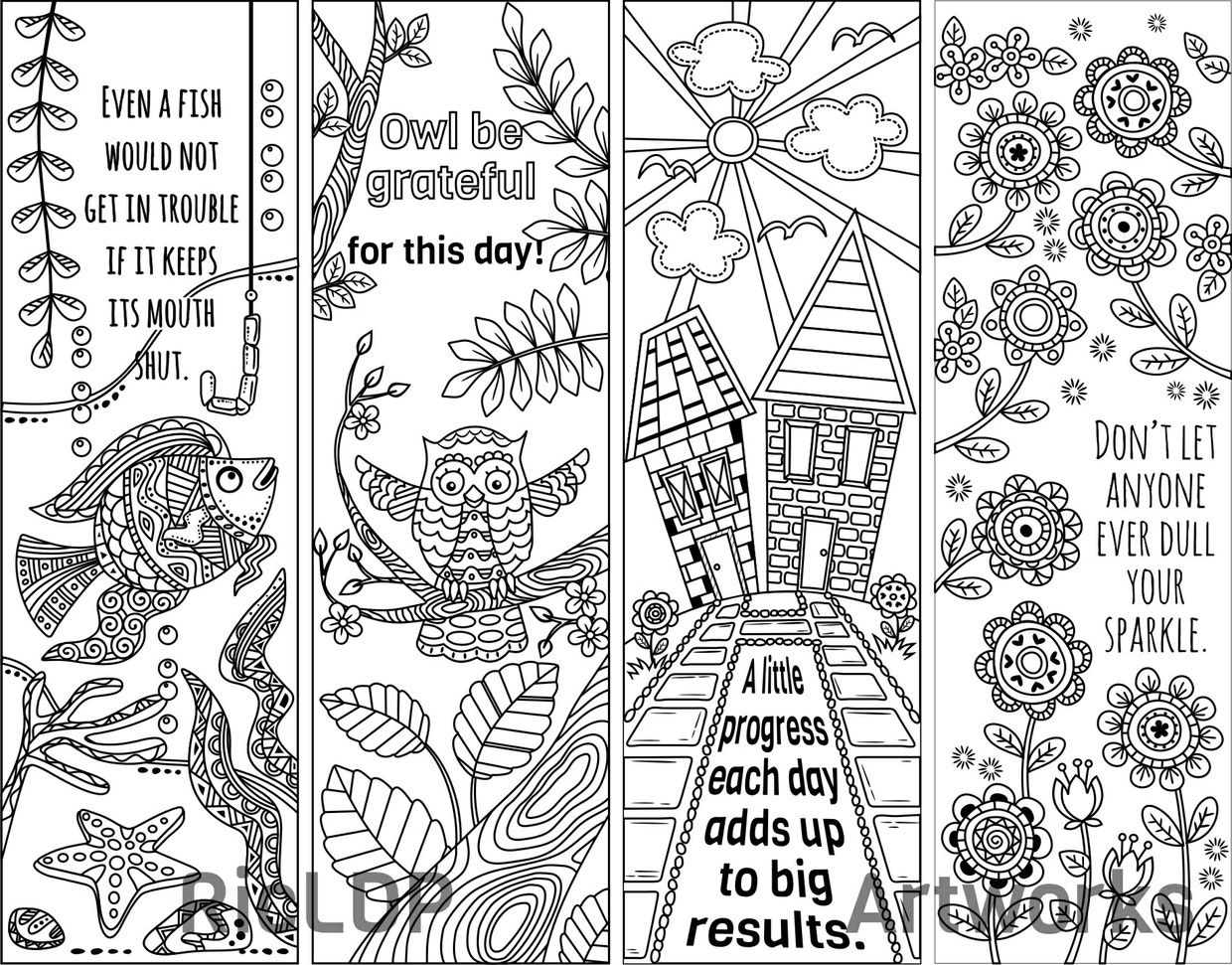 coloring bookmark template 8 coloring bookmarks with quotes coloring bookmarks coloring bookmark template