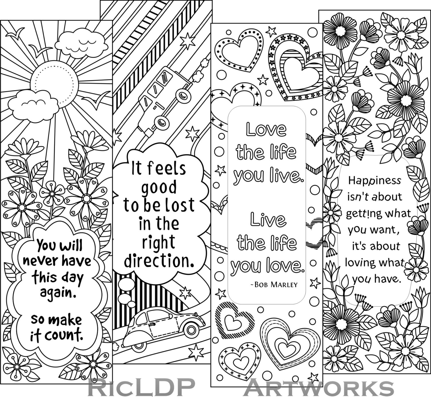 coloring bookmark template free printable coloring page bookmarks dawn nicole designs template bookmark coloring