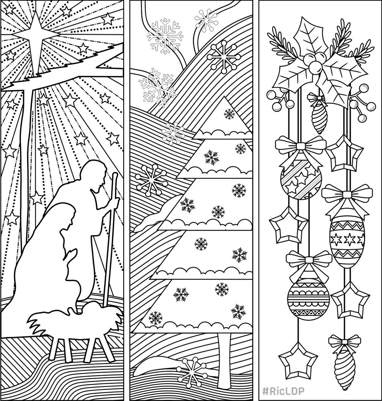 coloring bookmark template three christmas coloring bookmarks christmas coloring bookmark template coloring