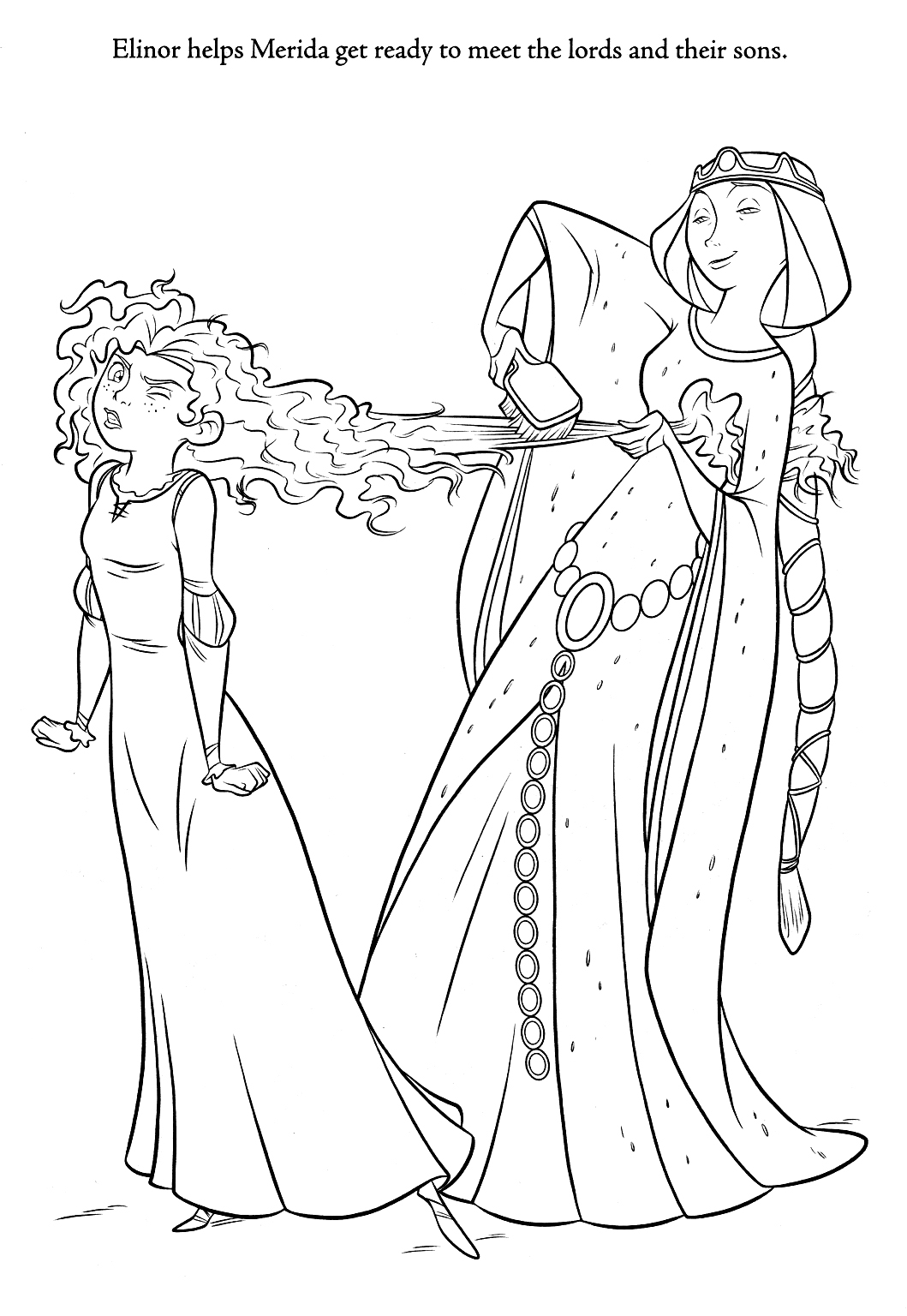 coloring brave brave merida coloring pages brave coloring