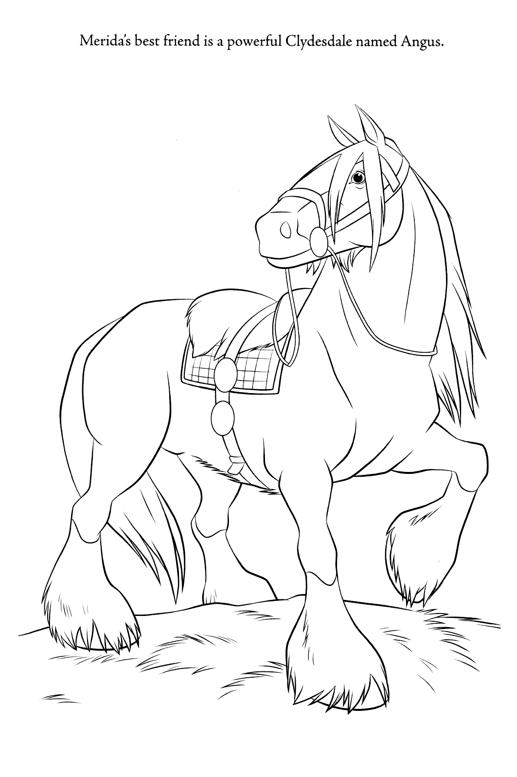coloring brave brave merida coloring pages brave coloring 1 2