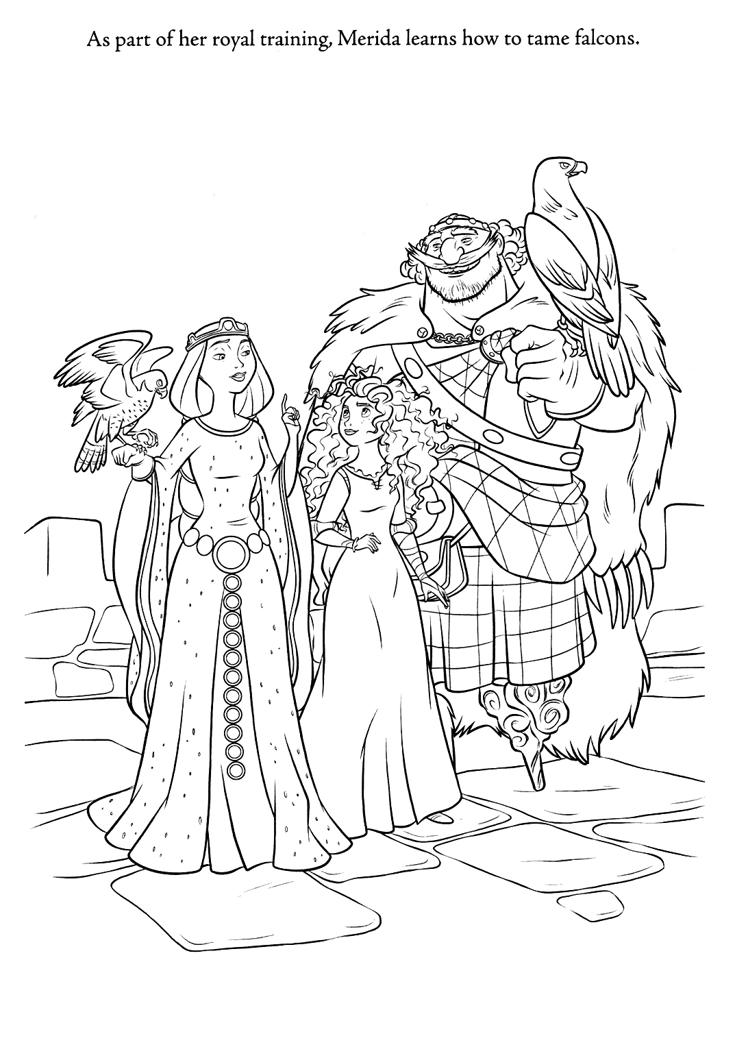 coloring brave brave merida coloring pages brave coloring 1 4