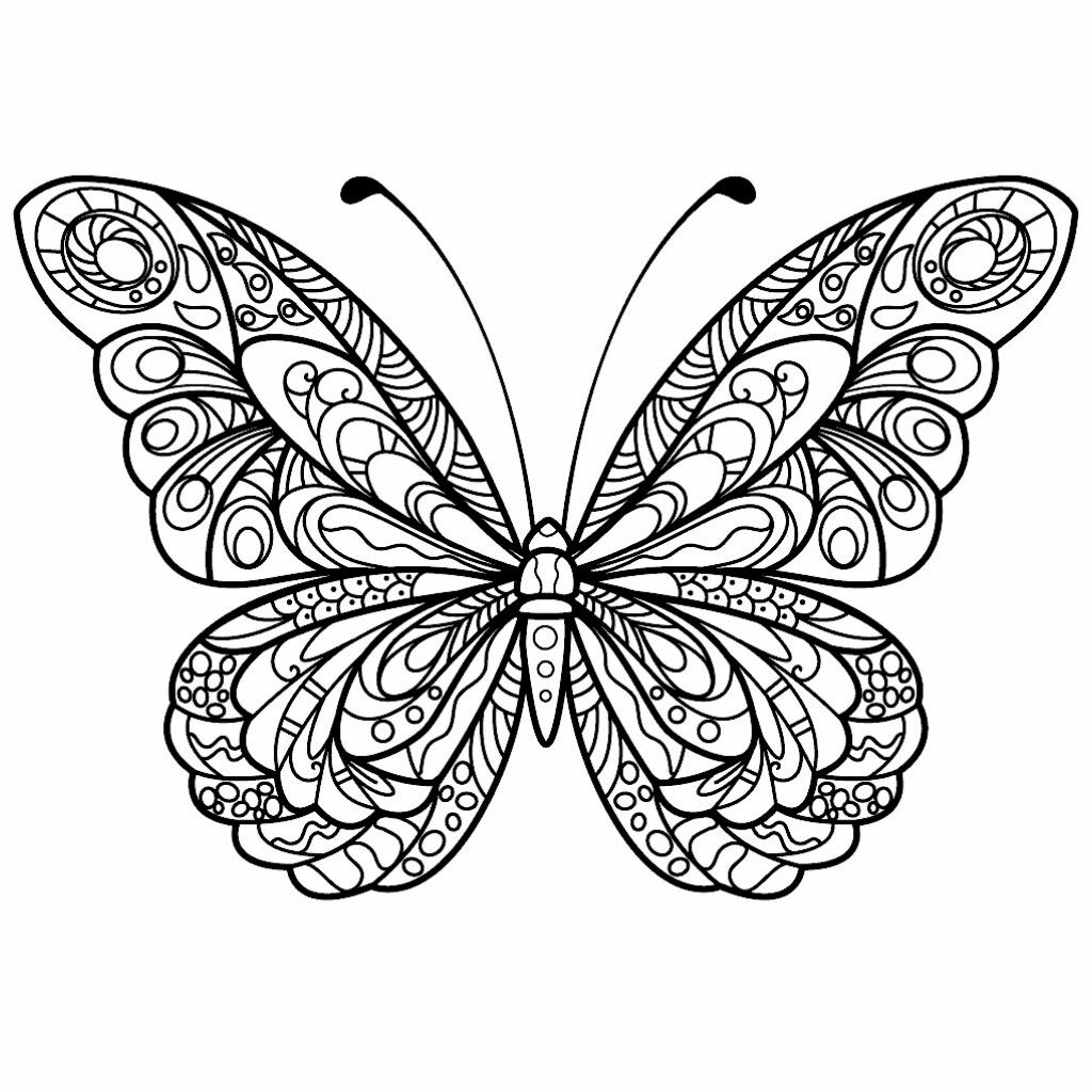 coloring butterfly mandala butterfly coloring pages team colors coloring mandala butterfly