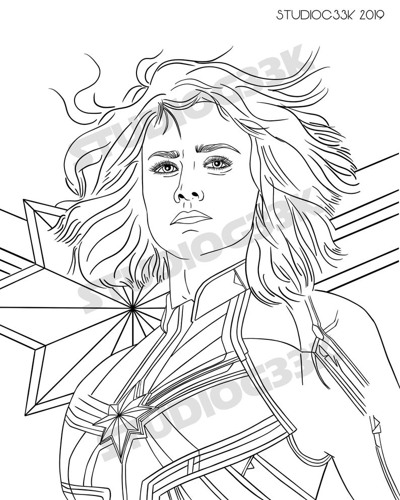 coloring captain marvel captain marvel coloring pages at getcoloringscom free captain coloring marvel