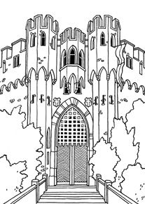 coloring castle letters pin by hjördís on jan 2019 castle coloring page free castle coloring letters