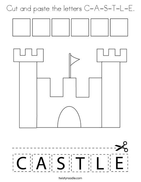 coloring castle letters pin on building coloring pages worksheets mini books castle letters coloring