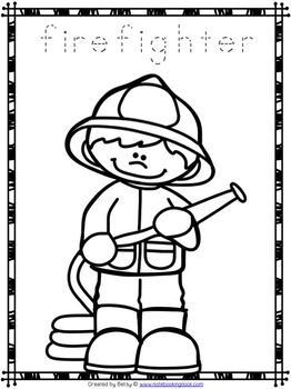coloring community helpers coloring community helpers coloring helpers community
