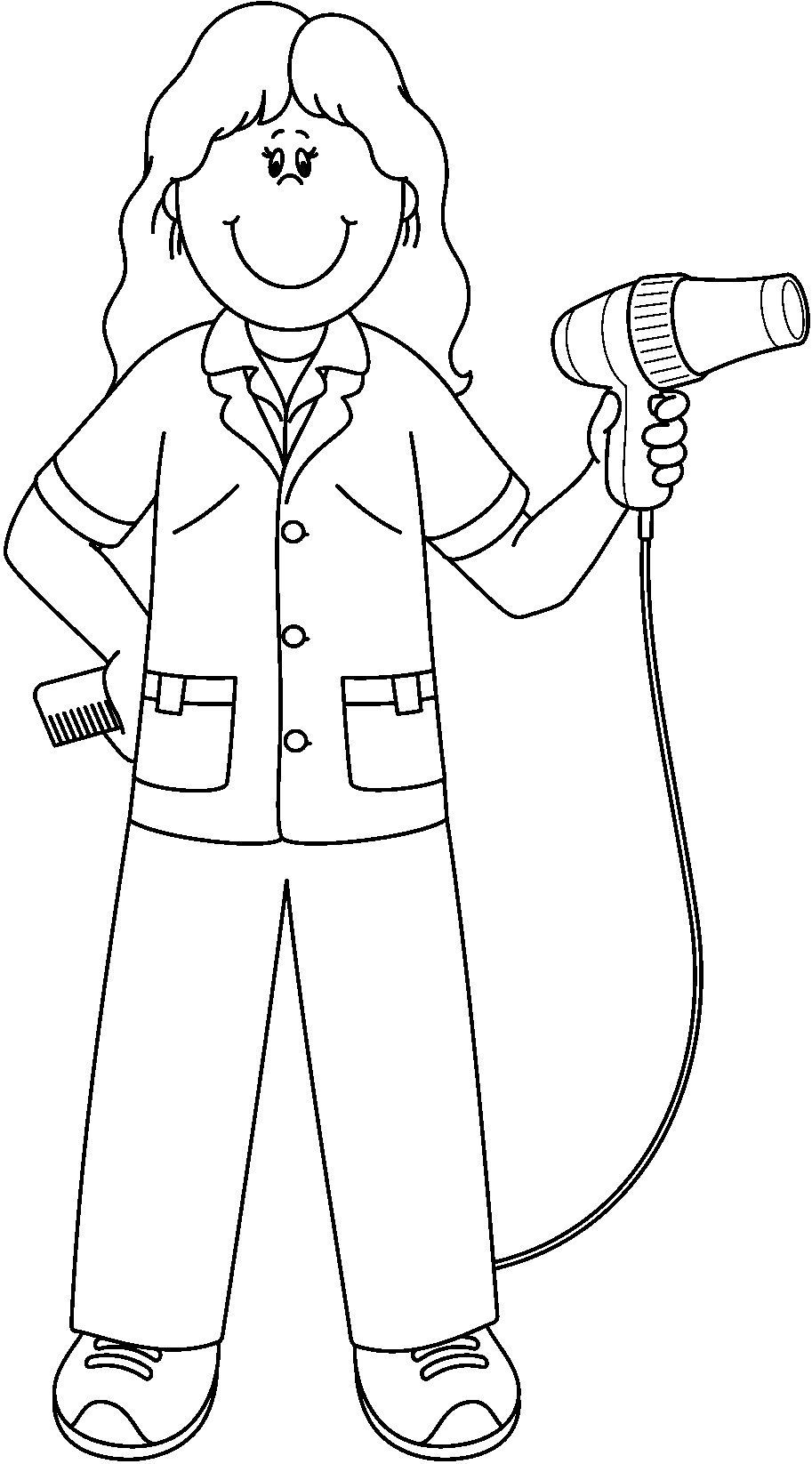 coloring community helpers images community helper coloring pages coloring pages for children coloring images helpers community