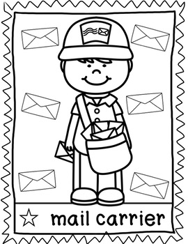 coloring community helpers images printable community helper coloring pages for kids coloring helpers community images