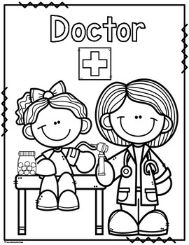 coloring community helpers images printable community helper coloring pages for kids helpers images coloring community