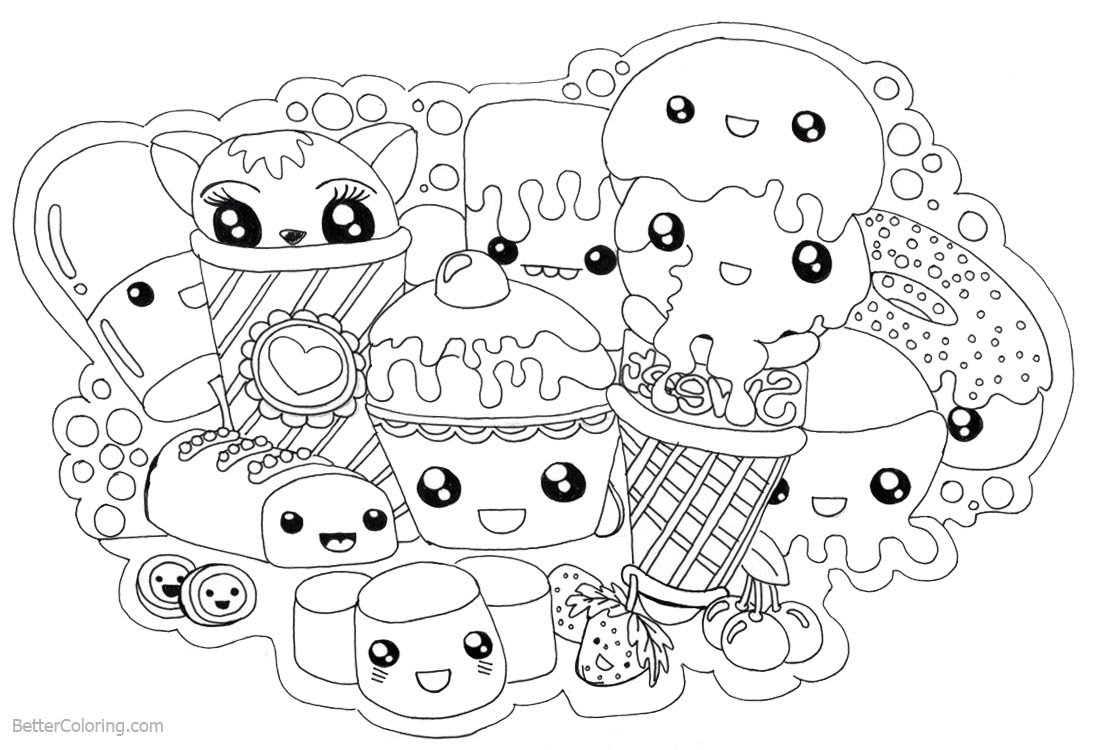 coloring cute food pictures get this cute food coloring pages 73bbd coloring food cute pictures