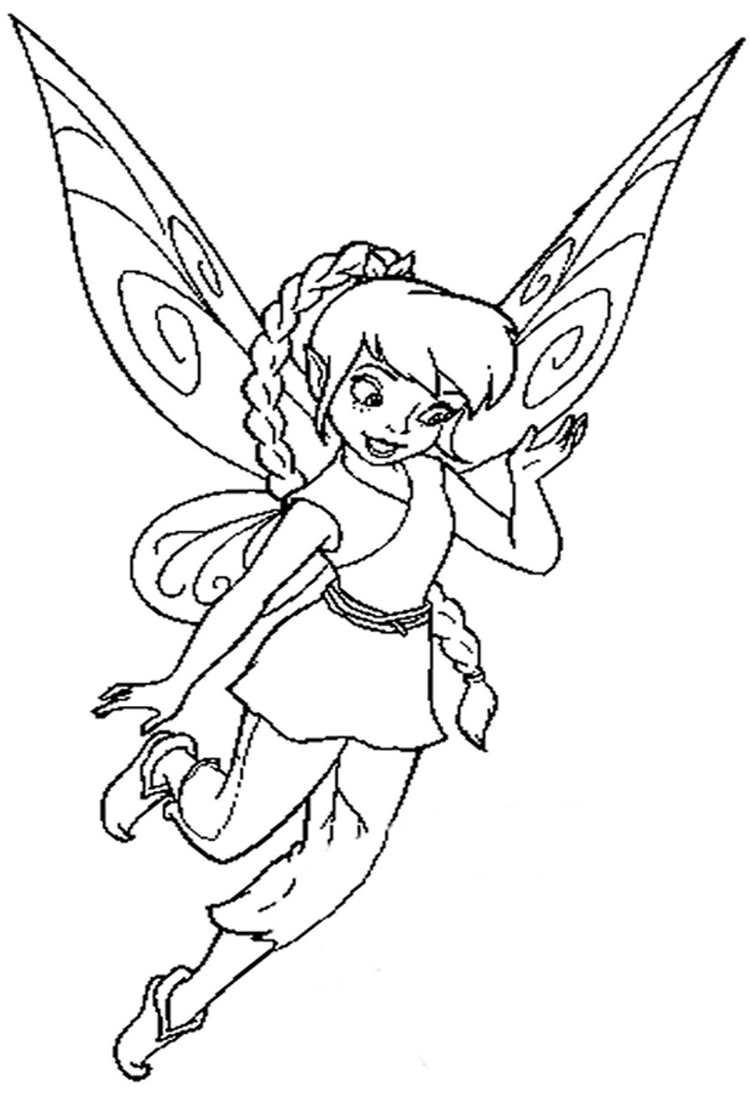 coloring disney fairies lovely fawn from disney fairies coloring page download coloring fairies disney