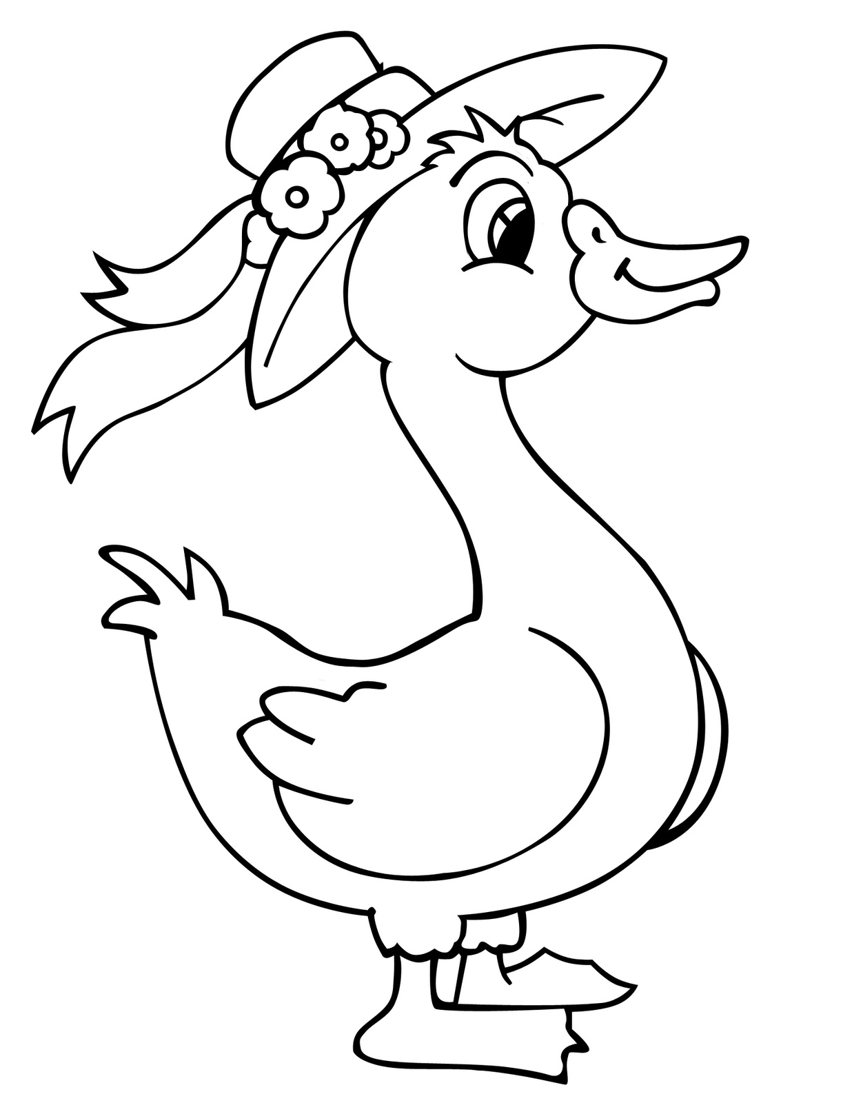 coloring duck pictures free printable duck coloring pages for kids animal place duck coloring pictures