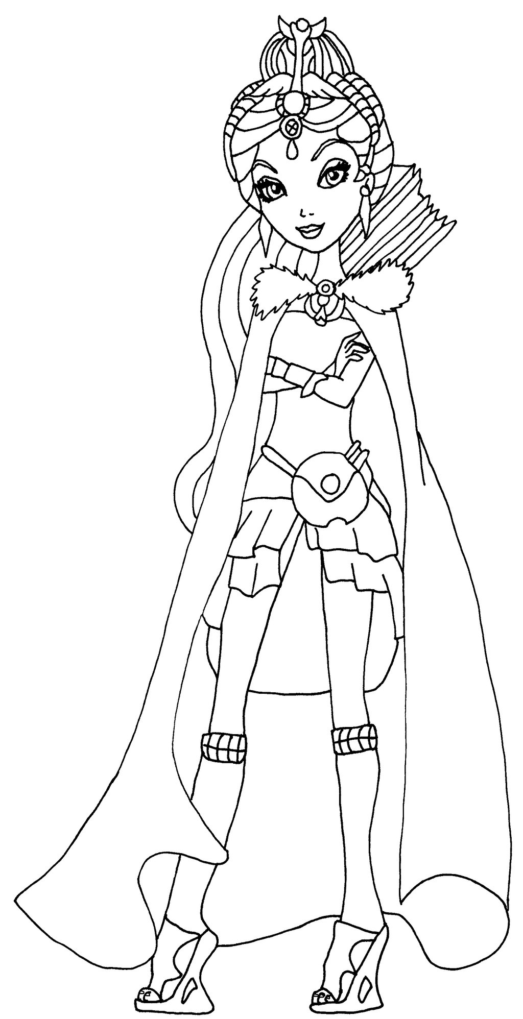 coloring ever after high ever after high lovely raven queen coloring pages after ever high coloring
