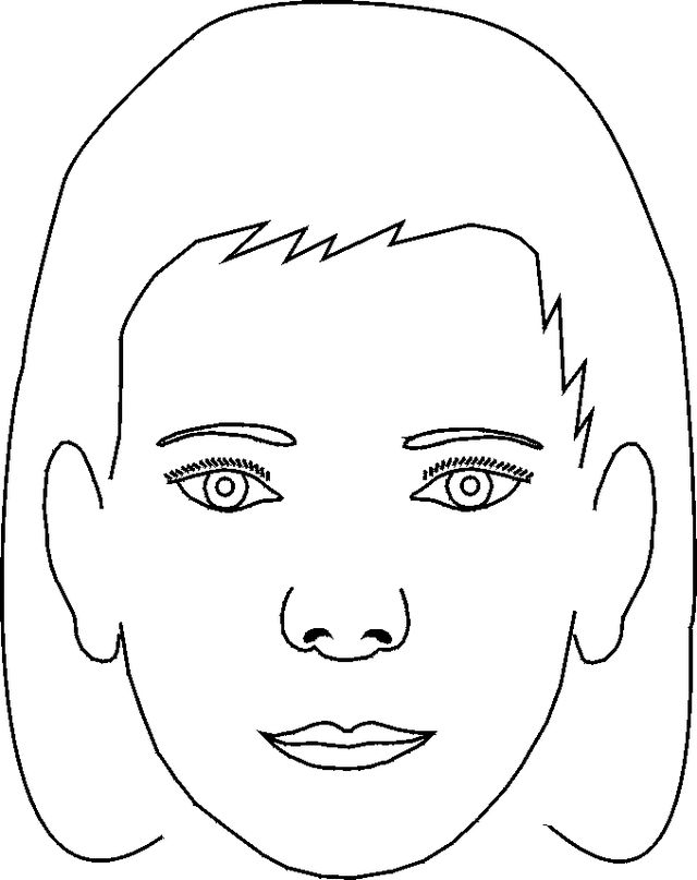 coloring face template 9 face coloring pages jpg ai illustrator download coloring face template
