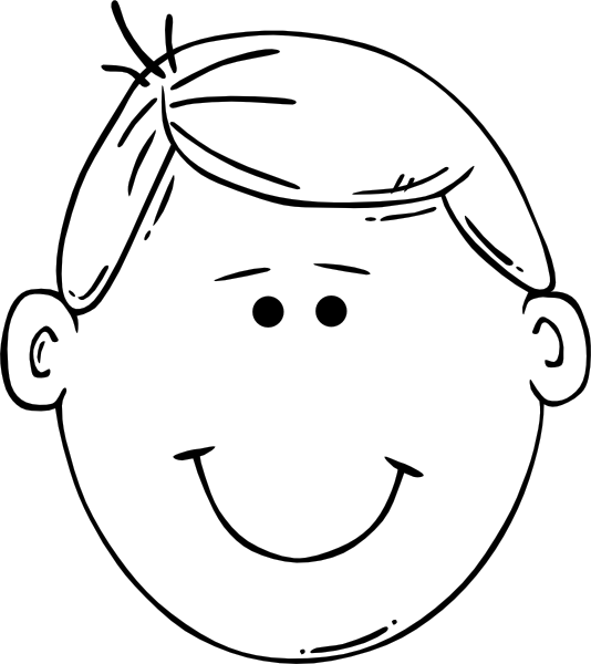 coloring face template blank face coloring page getcoloringpagescom face template coloring