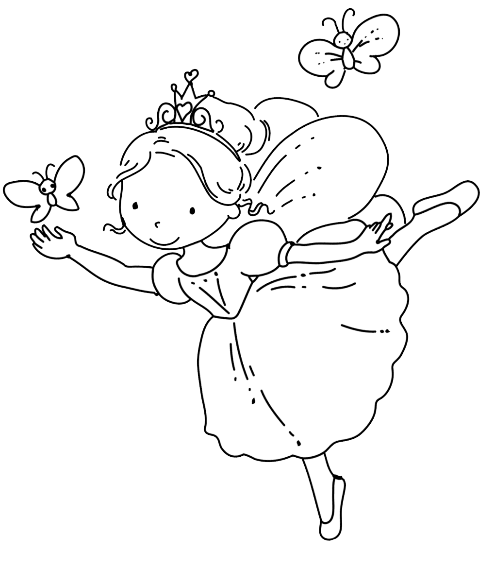 coloring fairies for kids fairy coloring pages coloring fairies for kids