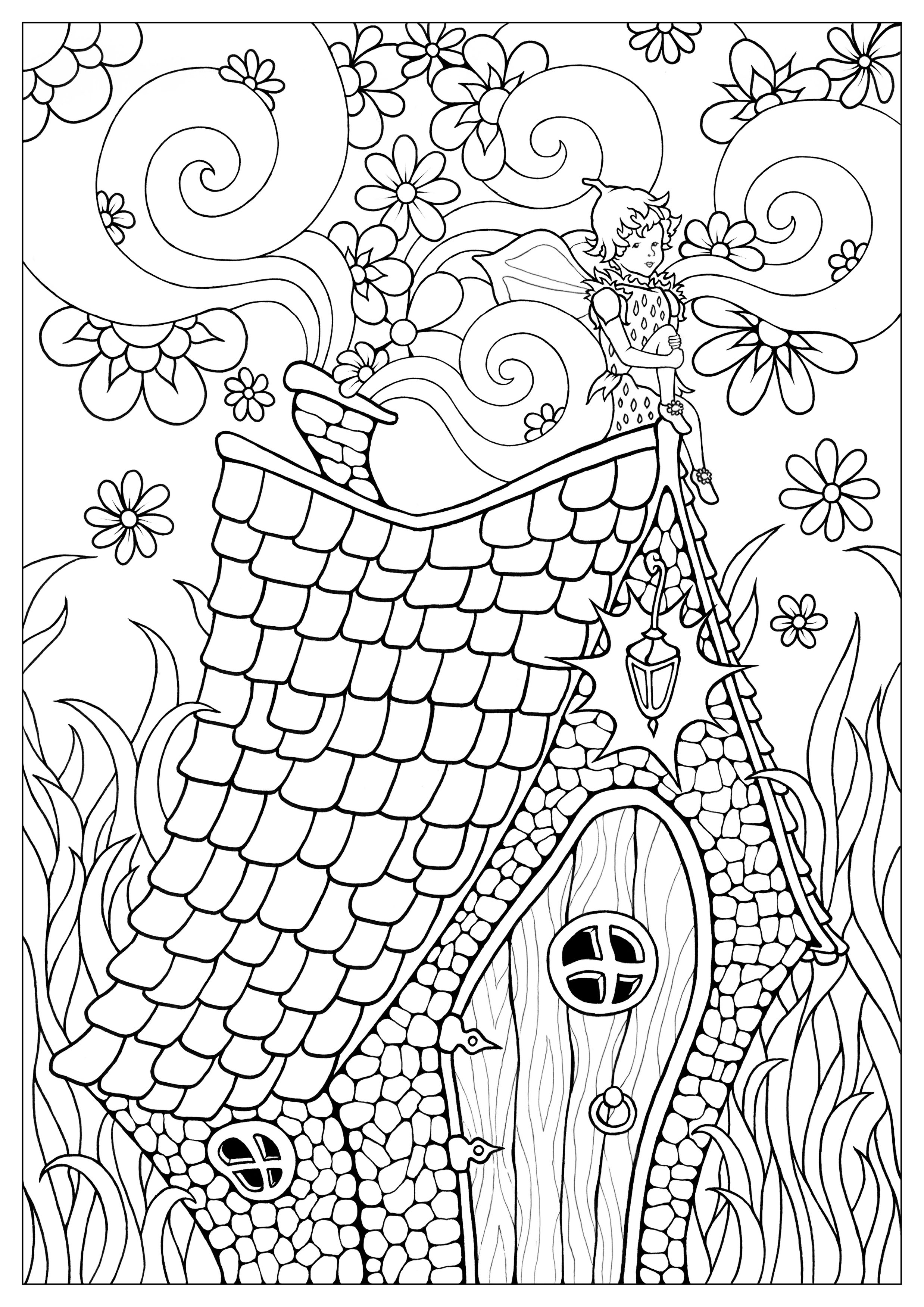 coloring fairies for kids fairy coloring pages getcoloringpagescom coloring for fairies kids