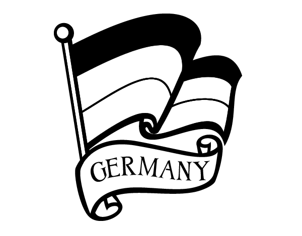 coloring flag germany germany flag printables germany coloring flag