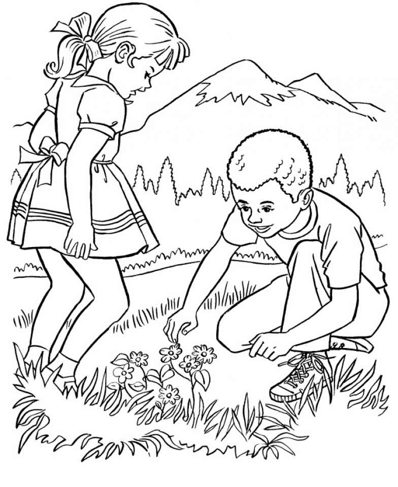 coloring for kids nature free printable nature coloring pages for kids best kids for nature coloring