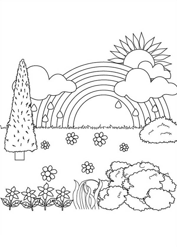 coloring for kids nature season and weather coloring pages momjunction kids coloring nature for