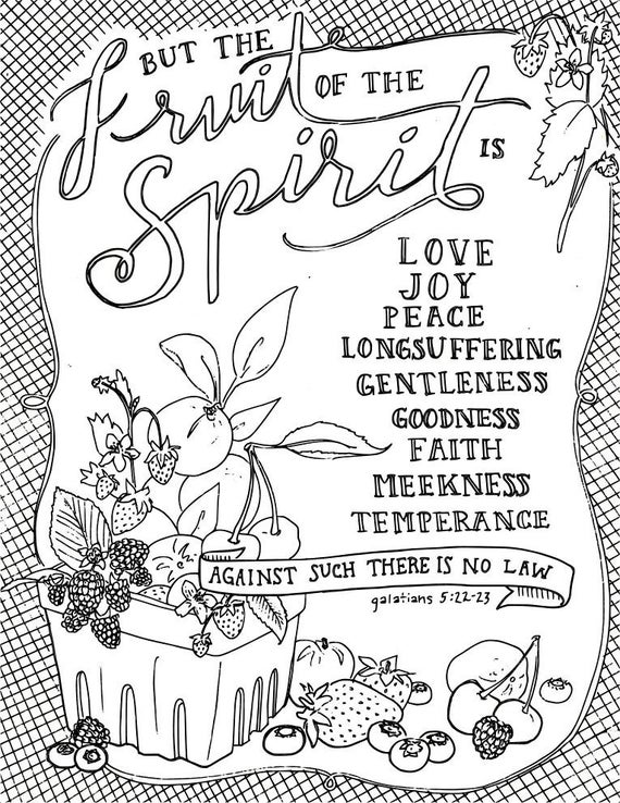 coloring fruit of the spirit fruits of the spirit bible coloring pages christian coloring fruit the of spirit