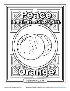 coloring fruit of the spirit fruits of the spirit coloring page sunday school crafts spirit of the coloring fruit