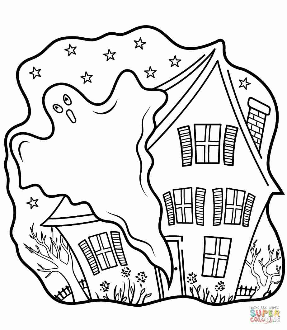 coloring ghost images cartoon ghost coloring pages at getcoloringscom free ghost coloring images