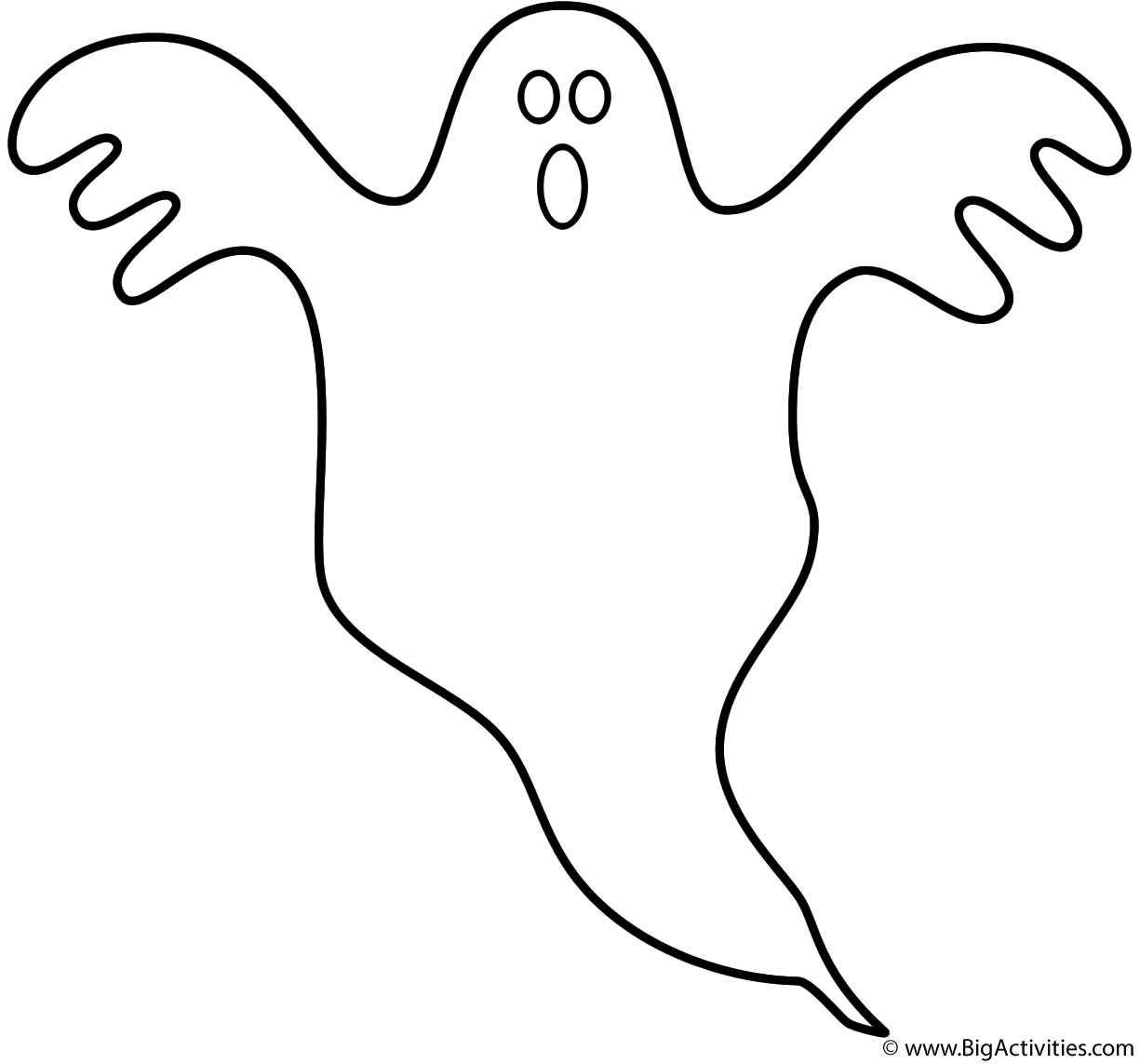 coloring ghost images ghost coloring pages getcoloringpagescom ghost coloring images