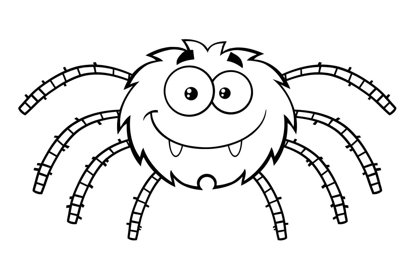 coloring halloween spider pictures printable halloween decoration cutouts pictures spider halloween coloring
