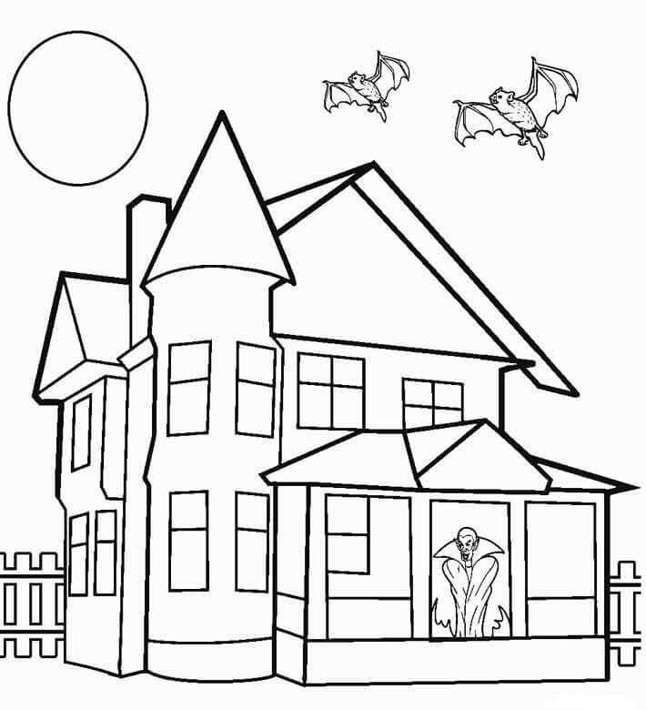 coloring house pictures free printable house coloring pages for kids house coloring pictures 1 3
